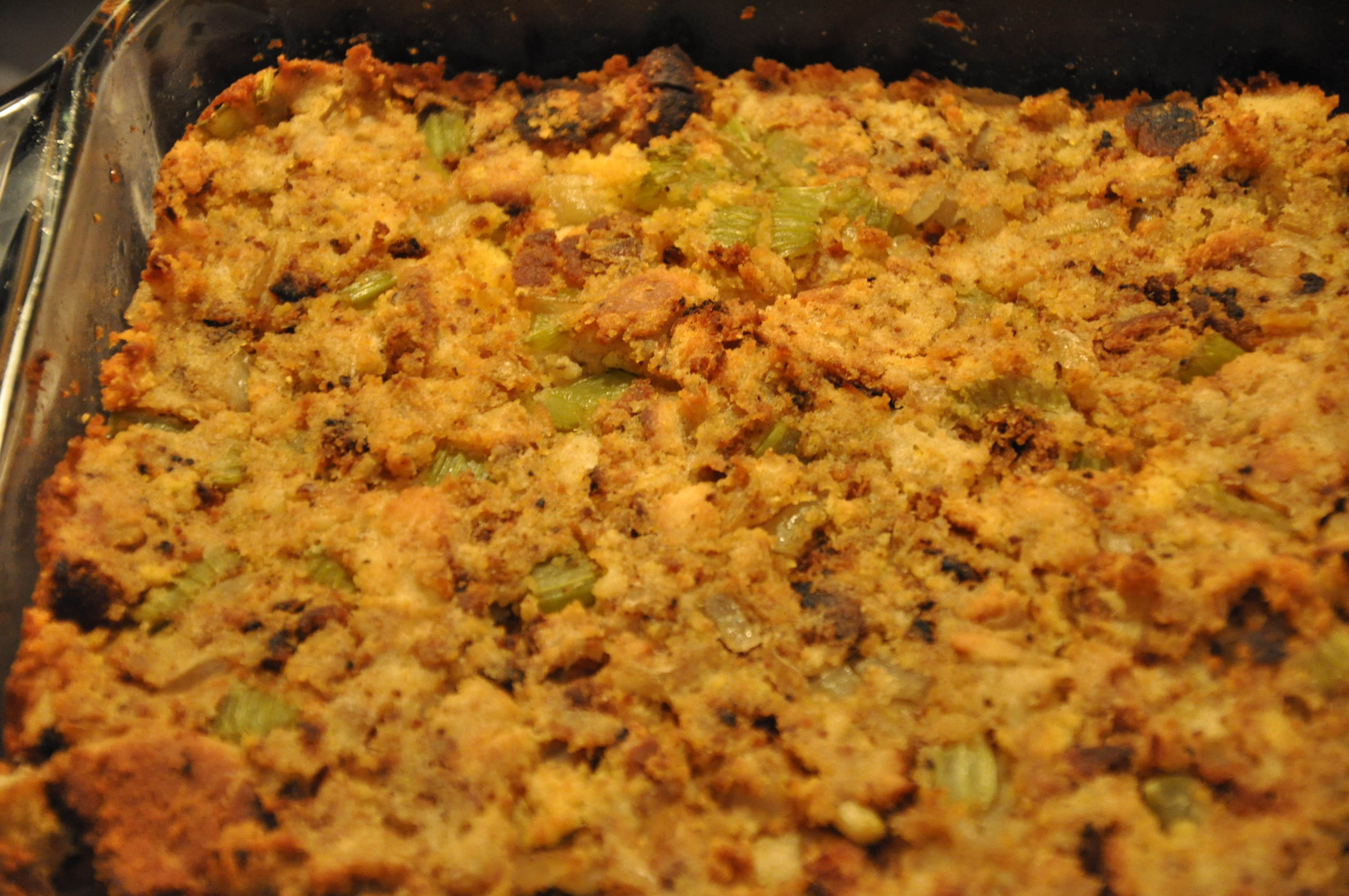 Cornbread dressing southern style pictures