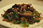 quinoa and roasted beet salad with orange sesame vinaigrette