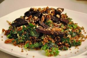 quinoa kale beets