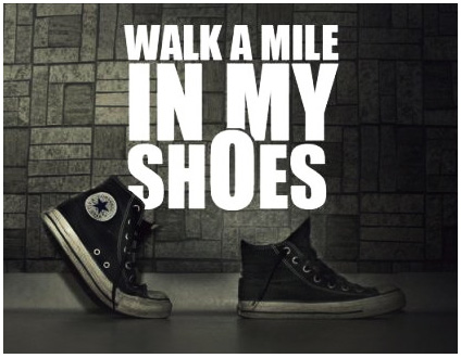 A walk in my kid's shoes and the reality of foodallergies.