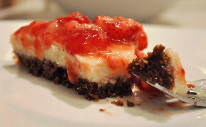 The Easy No-Bake Allergen-Free Cheesecake that You've Been Looking For. Almost Perfect. AcceptingChallenges.