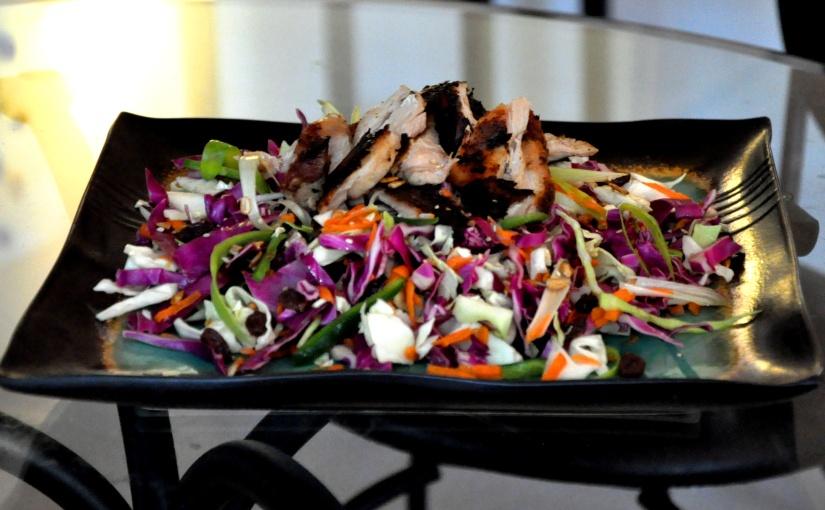 Easy Allergen-Free Weeknight Dinner Series: Blackened Chicken with Orange-JalapenoColeslaw
