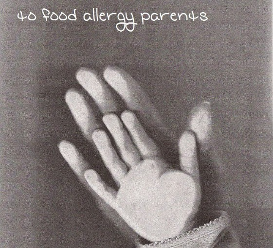 I Wasn't Expecting to Cry Today. Then, This Touching Letter To AllergyParents…