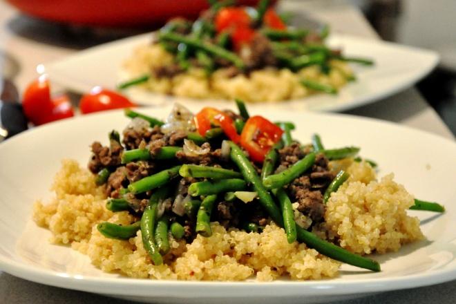 Savory Beef Quinoa