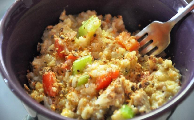 """Easy Allergen-Free Weeknight Dinner Series: """"Cheesy"""" Chicken andRice"""