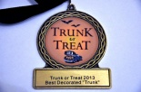 Trunk or Treat Award Gen
