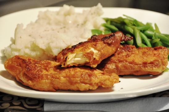 Fried Chicken Tenders – Garbanzo Bean Flour Crust | Safe Eats