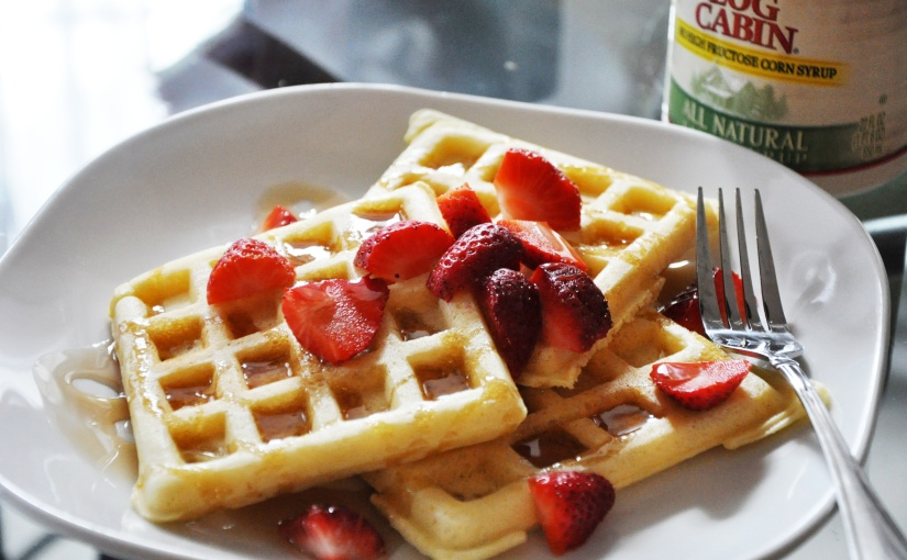 Tender and Delicious Waffles (Gluten-free, Dairy-free, andBean/Soy-free)