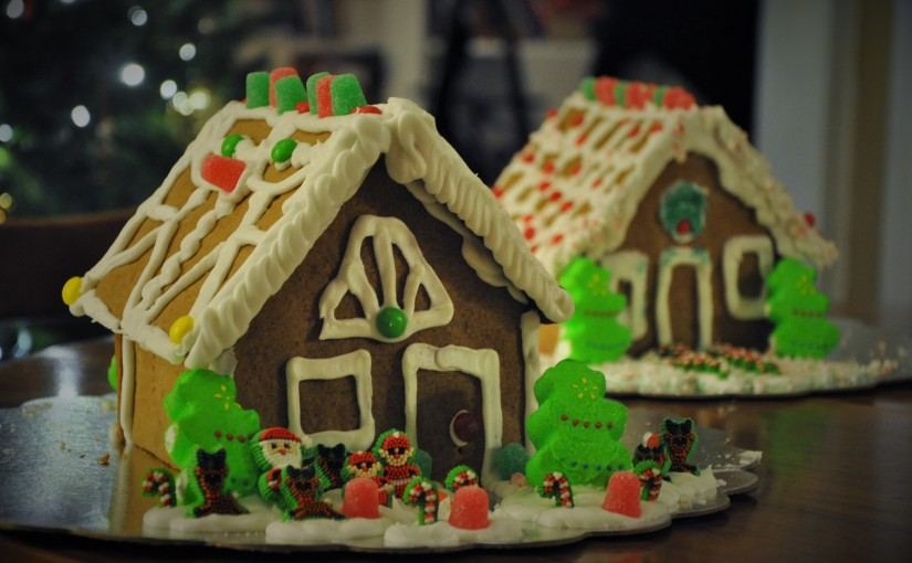 A Gingerbread House for Everyone! Free of Multiple Allergens and Fun for EveryChild!