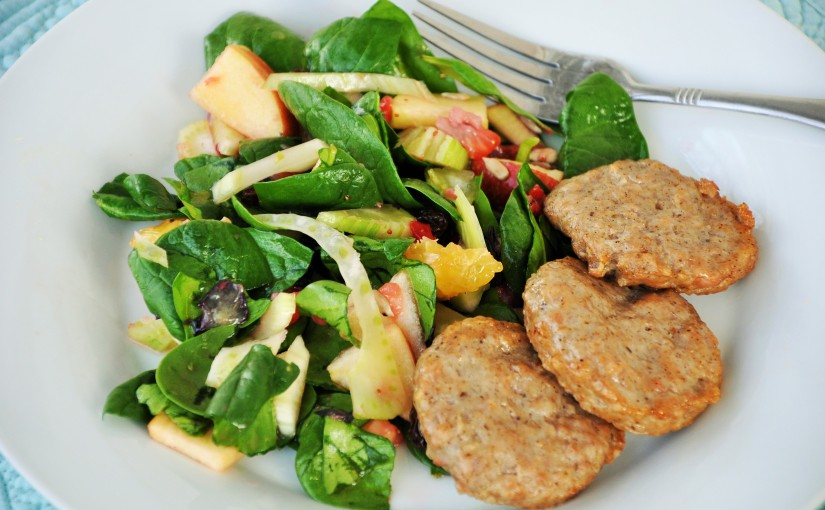Fennel & Apple Salad with Crushed BerryVinaigrette