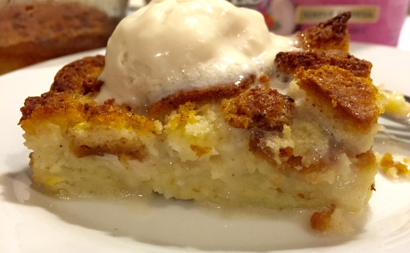 Gluten-free and Dairy-free BreadPudding